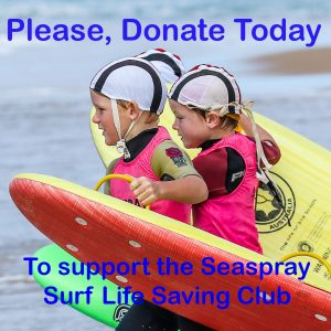 Donations to the Seaspray SLSC